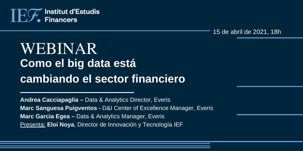 como el big data está cambiando el sector financiero