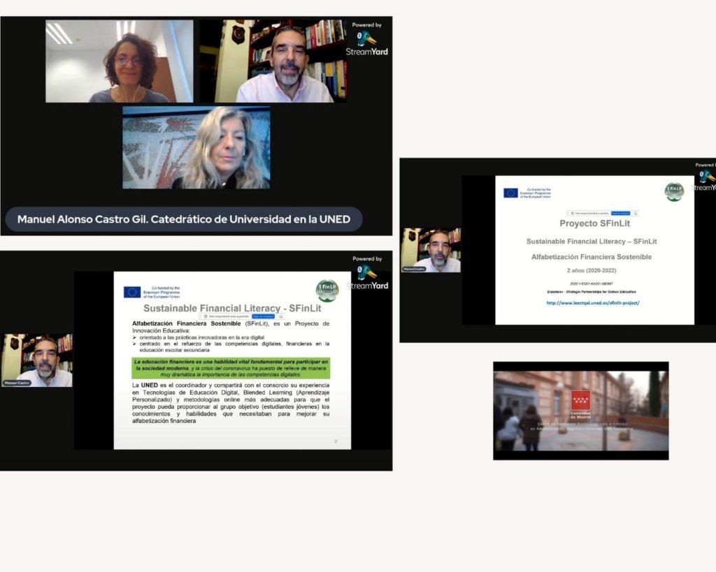 presentación proyecto sfinlit online